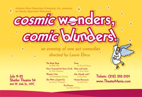 Cosmic wonders comic blunders